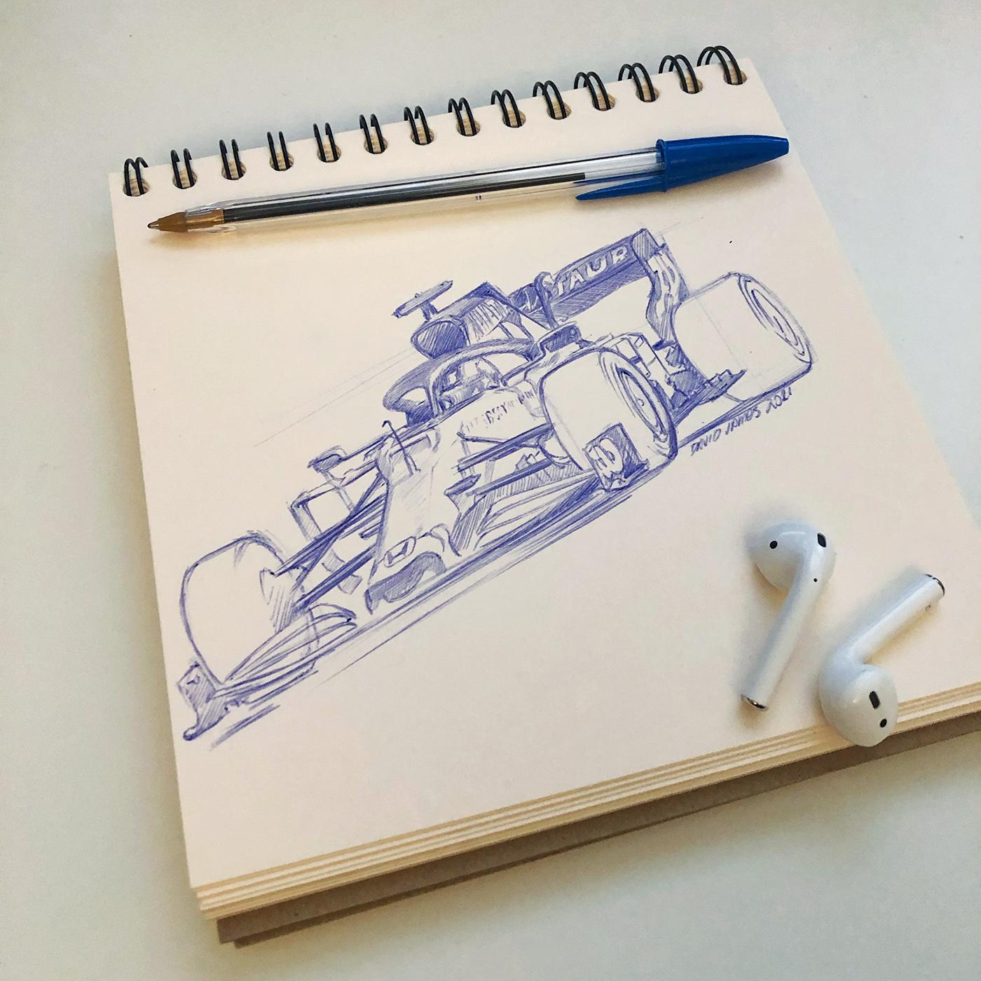F1 Sketch, Gasley