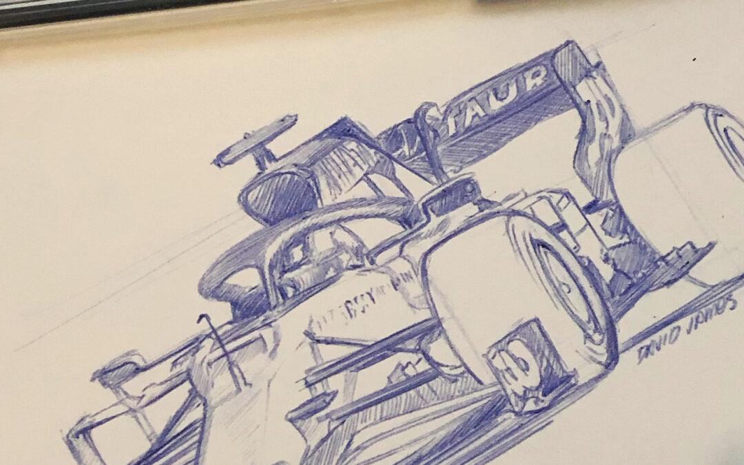 Formula 1 Sketches