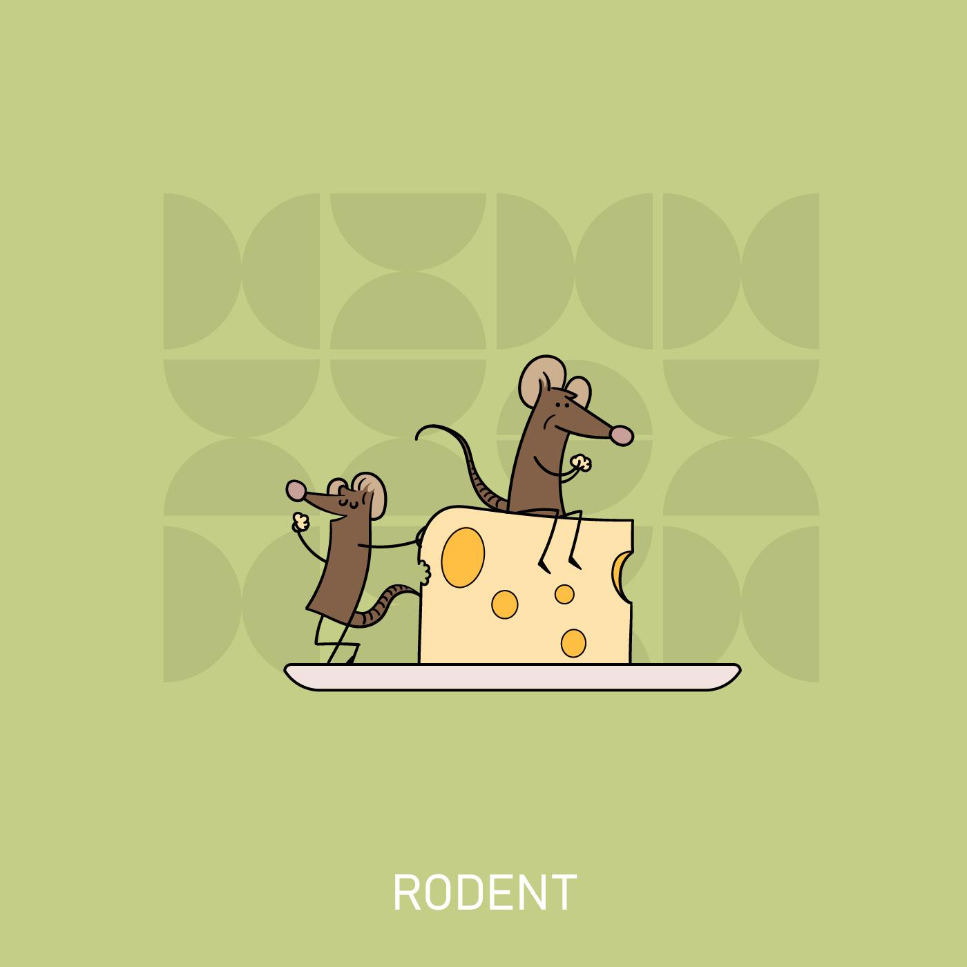 Vectober Rodent
